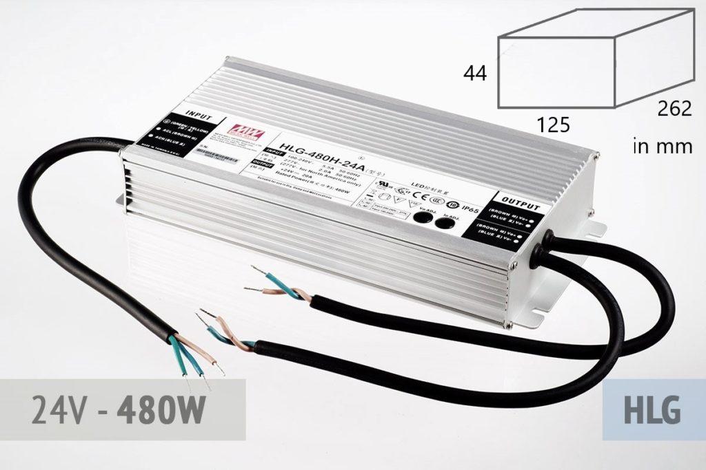 LED Netzteil Meanwell HLG-480