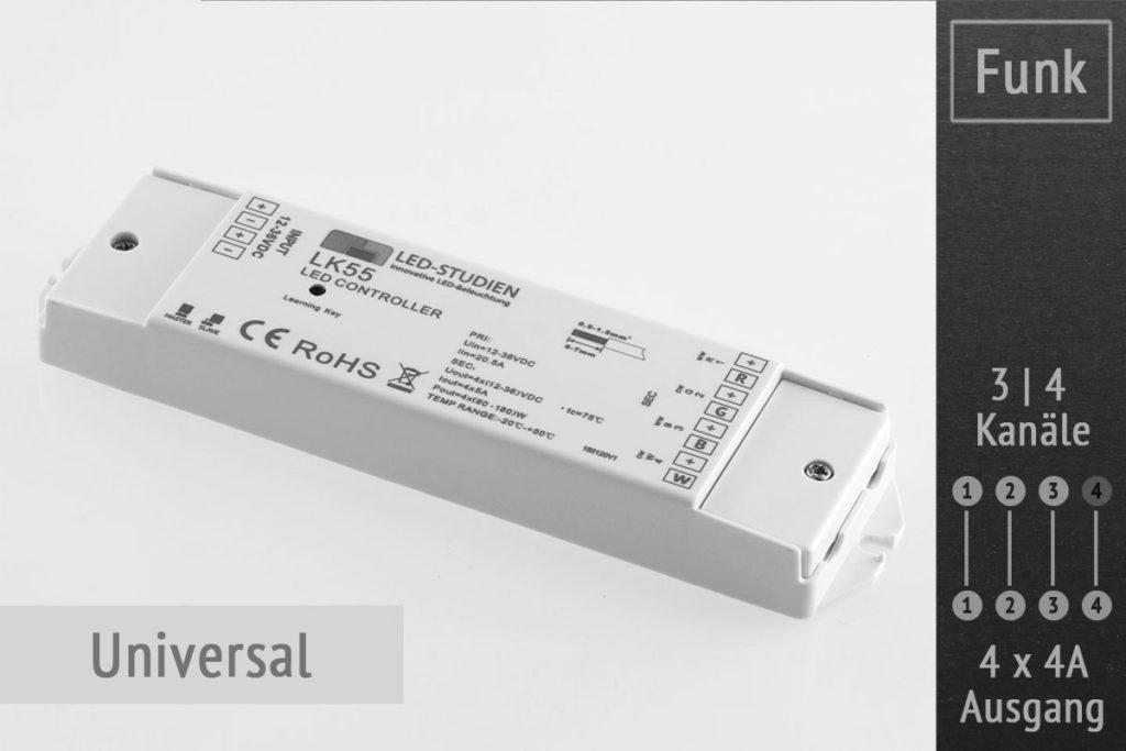 Funk-LED-Controller 4-Kanal